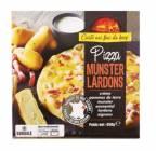 pizza munster-lardons