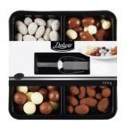 photo Plateau de fruits et de noix enrobés de chocolat