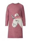 robe en tricot fille