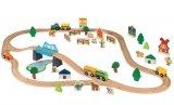 set chemin de fer ville ou ferme