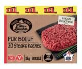 steaks haches facon bouchere
