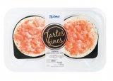tartes fines au saumon