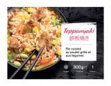 teppanyaki riz cuisine au poulet et legumes