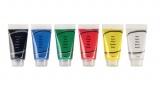 tubes de peinture acrylique