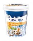 yaourt glace au miel et noix de pecan caramelisees