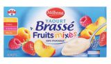 yaourts brasses aux fruits mixes