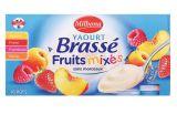 yaourts brasses aux fruits mixes