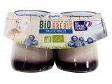 yaourts pur brebis sur lit de myrtilles bio
