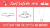 -50% sur une selection de bijoux - st-valentin 2020