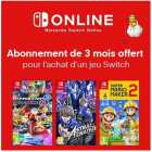 abonnement switch online offert pendant 3 mois conditions
