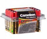 photo 24 piles alcalines