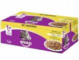 photo 40 repas en sauce ou en gelée pour chat Whiskas