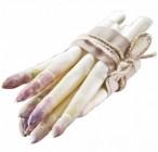 asperges blanches/violettes