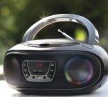 boombox radio stereo cd/mp3/usb