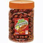 cacahuegravetes carameacuteliseacutees