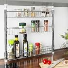 eacutetagegravere agrave eacutepices ou organisateur de cuisine teacutelescopique