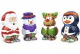 photo Figurines de Noël garnies de chocolat