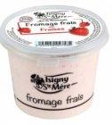 fromage frais aux fraises