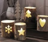 lanterne decorative en bois
