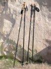 photo Lot de 2 bâtons de marche ou de randonnée env. 65 - 135 cm