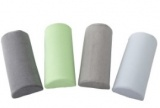 oreiller demi-cylindrique ou oreiller ergonomique