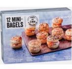 12 mini-bagels