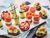 16 bouchees aperitives aux legumes