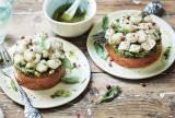 2 tartares de saint-jacques aux tomates confites et au basilic