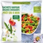 3 sachets vapeur legumes croquants