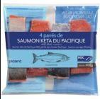 4 paves de saumon keta du pacifique msc