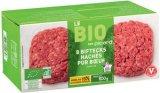 8 biftecks haches bio