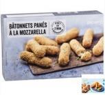 batonnets panes a la mozzarella