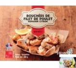 bouchees de filet de poulet romarin-citron
