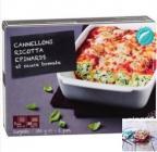 cannelloni ricotta-epinard et sauce tomate
