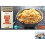 ecrase de pomme de terre et patate douce a la ciboulette