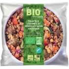 falafels legumes et semoule facon couscous bio