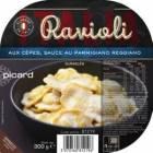 ravioli aux cepes sauce au parmesan