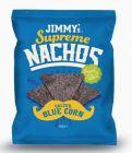 salted blue corn nachos