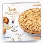 tarte facon crumble a la pomme et a la poire
