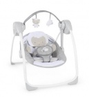 balancelle comfort portable swing - agneau calin