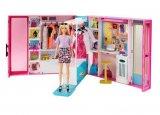 poupee barbie - le dressing deluxe de barbie