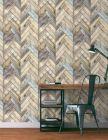 papier peint artisan vinyle sur intisse imitation bois che