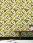 papier peint bananier vinyle sur intisse motif tropical v