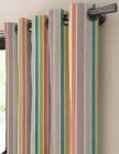 tissu hendaye rayures verticales multicolore