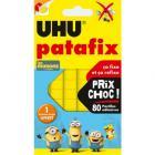 patafix jaune les minions - uhu - 80 pastilles