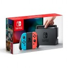 console nintendo switch - joy-con rouge neon bleu neon