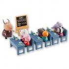 giochi preziosi - salle de classe et 7 personnages - peppa p