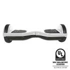 iskute - hoverboard balance board v3 - blanc certifie norme