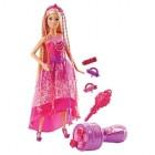 poupee barbie princesse tresses magiques dkb62