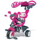 photo Smoby - tricycle baby driver confort - rose